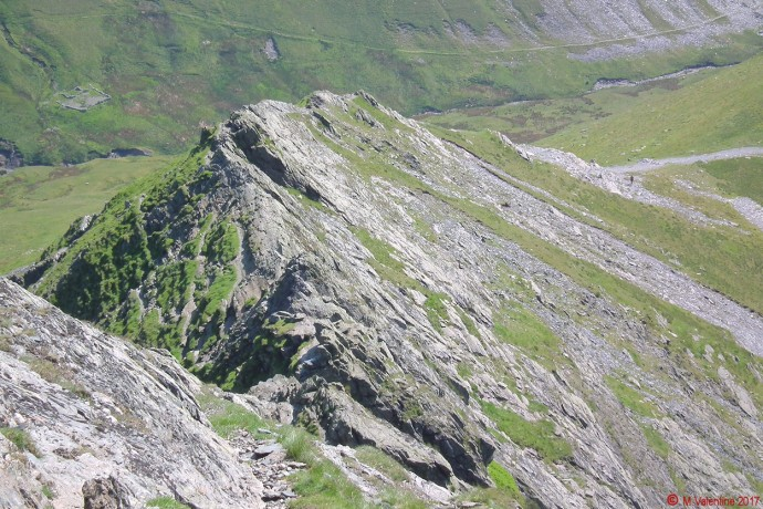 Sharp Edge from Foule Crag.