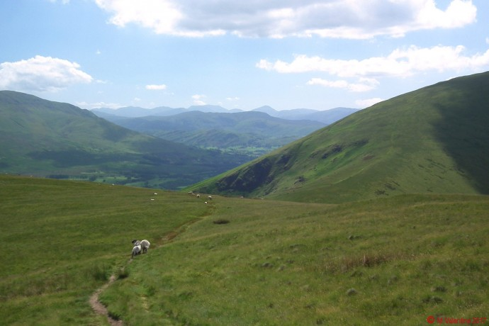 Approaching Mousthwaite Comb.