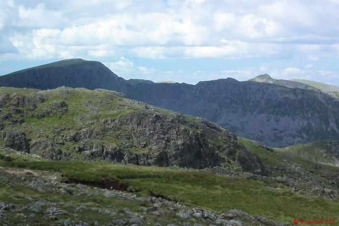 Striding Edge from Hart Crag.