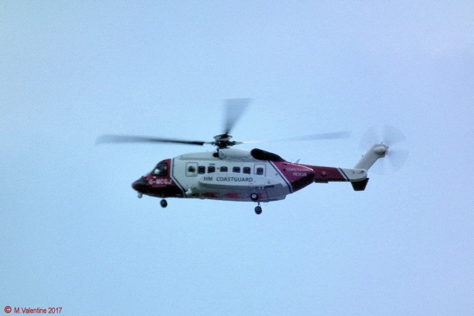 Coastguard Helicopter.