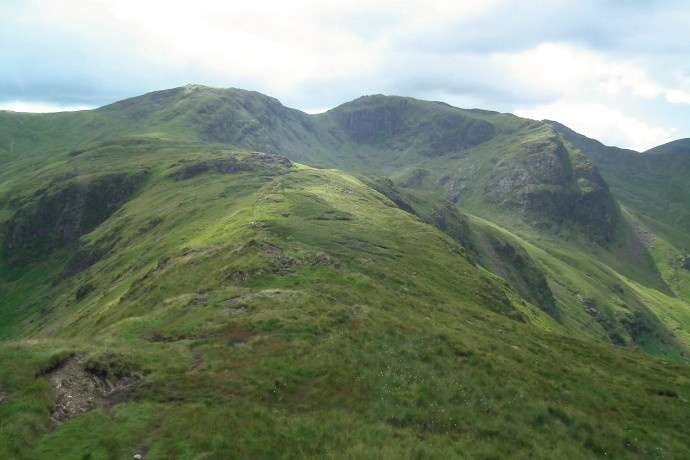 Hart Crag, Fairfield, Link Cove, and Greenhow End.