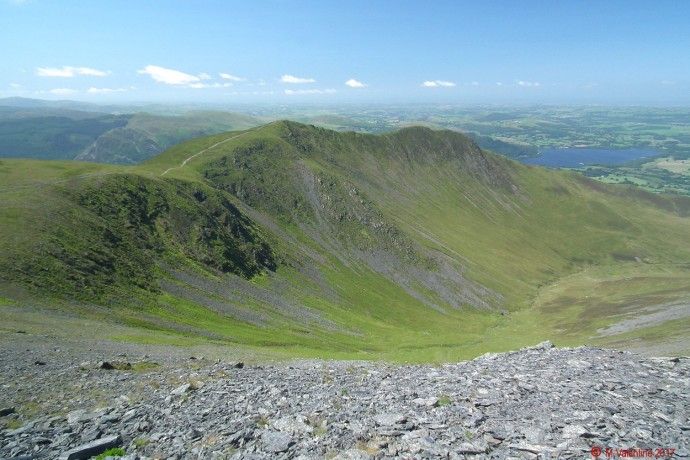 Longside Edge & Ullock Pike.
