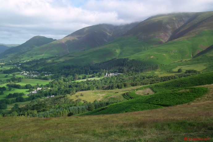 Dodd and Skiddaw from Latrigg.